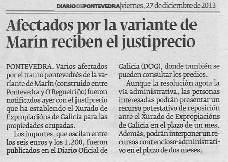 Diario, 27 de decembro de 2013.