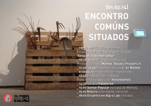 Actividade no Museo MARCO de Vigo arredor das comunidades de montes.