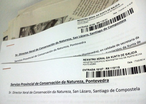 Recursos ante as xefaturas autonómica e provincial de Conservación da Natureza.