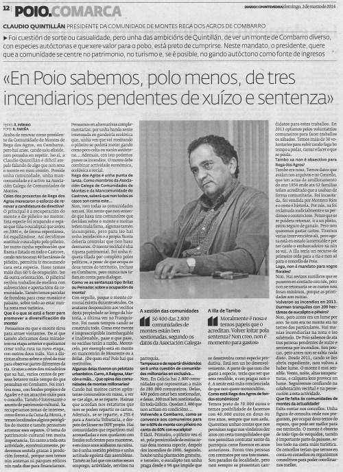 Diario. 2 de marzo de 2014.