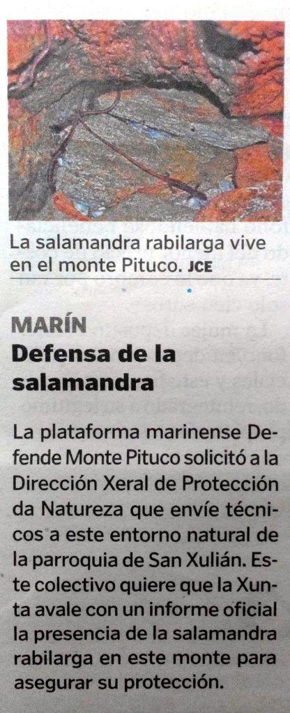 La Voz, 5 de marzo de 2014.