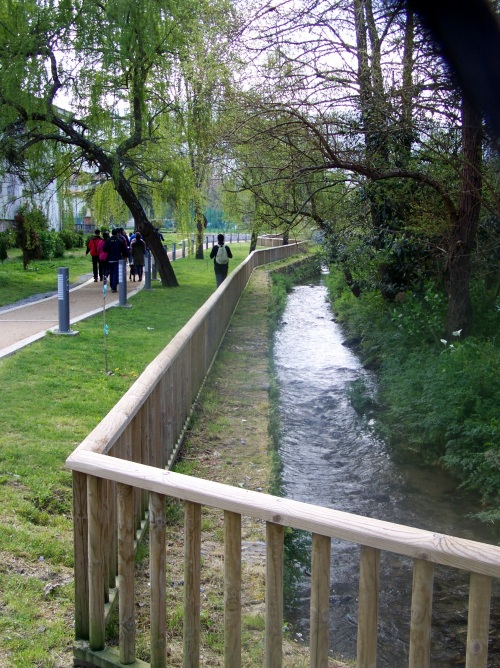 Senda fluvial do río Lameira, no Sequelo.