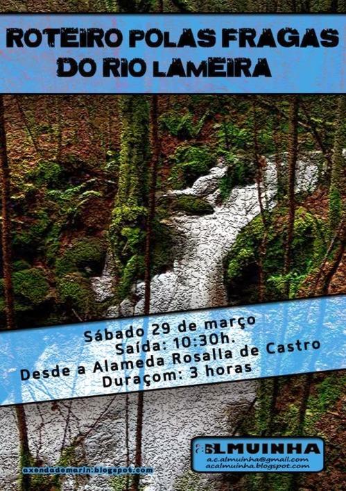 Roteiro polo río Lameira ata Castiñeiras, organizado por Almuinha.