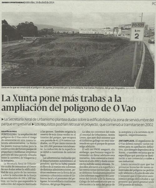 Diario, 16 de abril de 2014