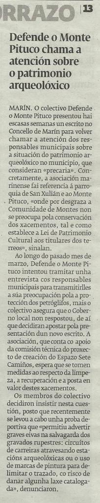 Diario, 23 de abril de 2014