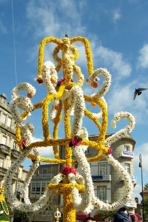 Festa dos maios en Pontevedra.