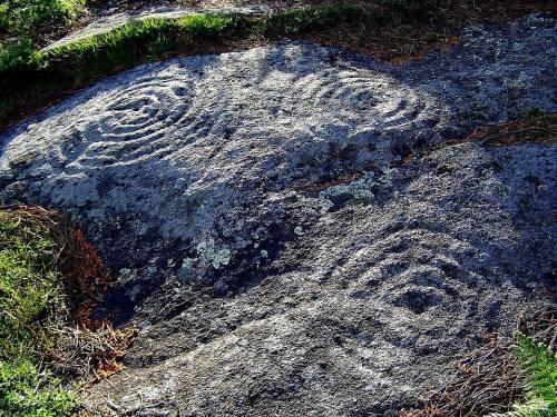 Petroglifos de Pornedo.