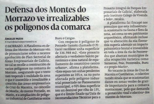 Diario, 6 de maio de 2014.