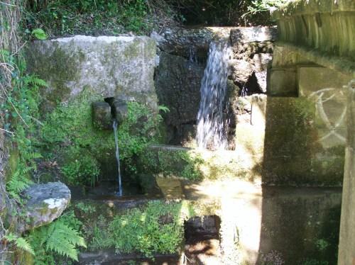 Fonte da Pedra, en Moaña.