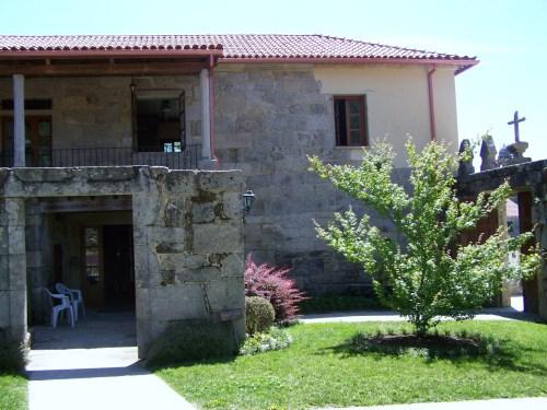 Casa da Música de Moaña, no adro de San Martiño.