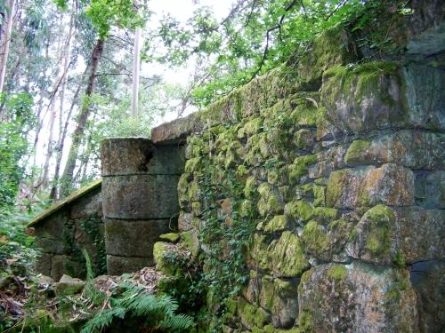 Muíño do río da Fraga, Moaña.