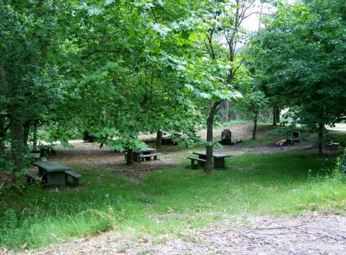 Área recreativa a carón do miradoiro dos Parientes, Moaña.