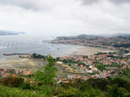 Vista desde o Miradoiro dos Parientes, Moaña.