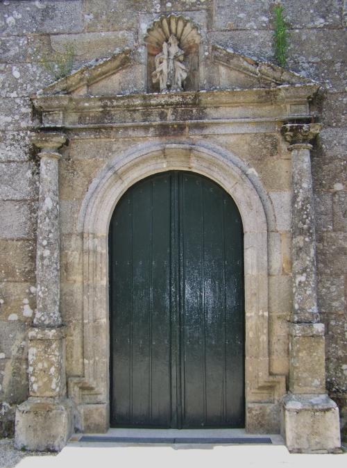 Igrexa de Santa Eulalia de Meira, Moaña.