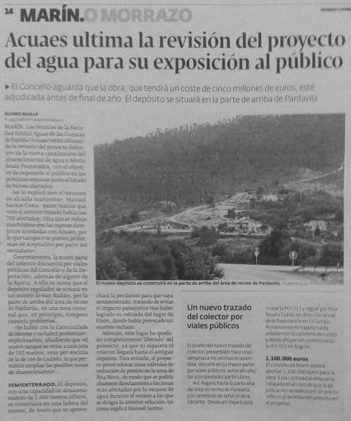 Diario, 26 de xuño de 2014.