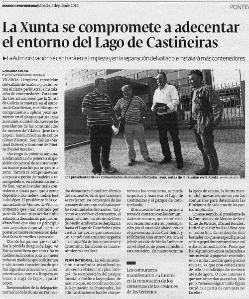 Diario, 5 de xullo de 2014.