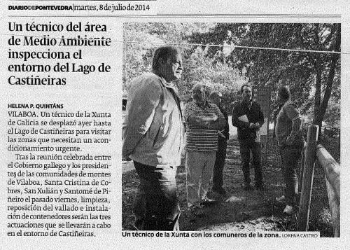 Diario, 8 de xullo de 2014.