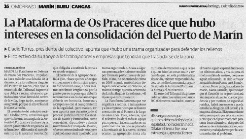 Diario, 13 de xullo de 2014.