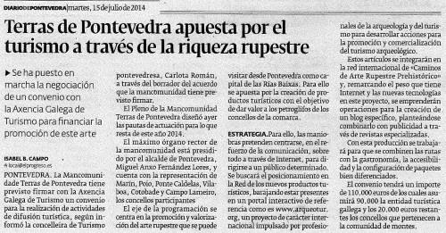 Diario, 15 de xullo de 2014