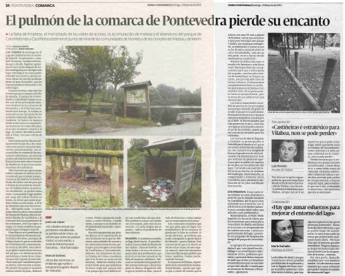 Diario, 29 de xuño de 2014.