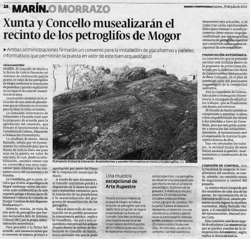Diario, 29 de xullo de 2014.