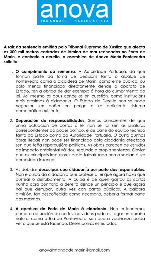 Anova sobre a sentencia dos recheos ilegais do Porto.
