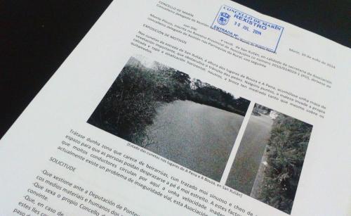 Escrito presentado no Concello de Marín, 30/07/14.