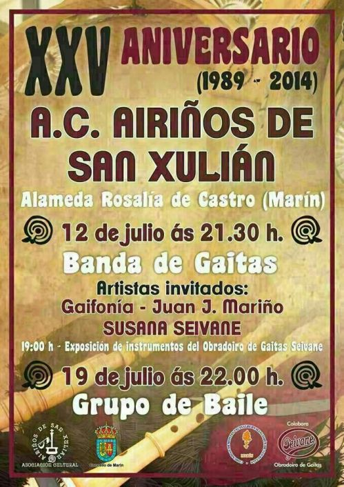 Festival 25º aniversario de Airiños de San Xulián.