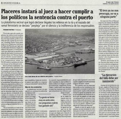 Faro, 3 de agosto de 2014.