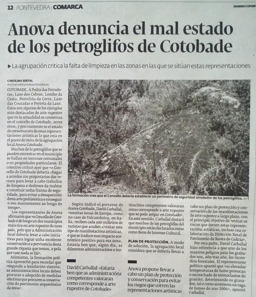 Diario, 7 de agosto de 2014.