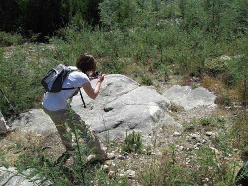 Petroglifos de Regato dos Buratos (foto, Alex Negreira).