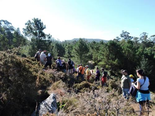 Petroglifos de Sete Camiños (foto, Paulo Troitiño).