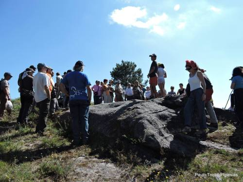 Petroglifos de Regato dos Buratos (foto, Paulo Troitiño).