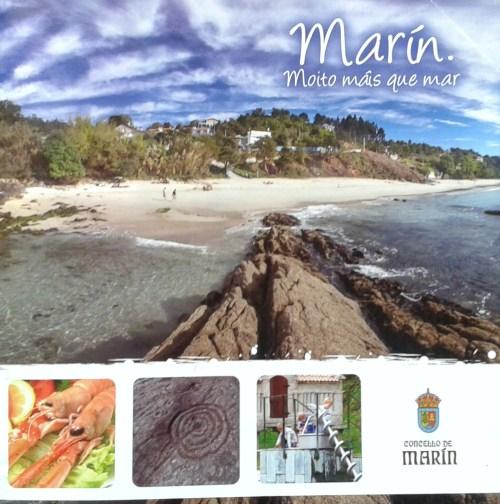 Folleto turístico 2014 do Concello de Marín.