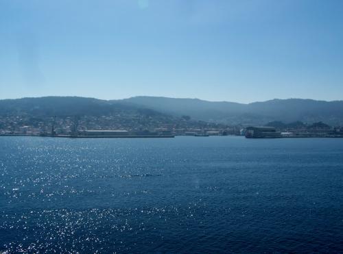 Vista de Marín dende Tambo.