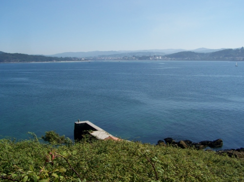 Vista de Pontevedra dende Tambo.