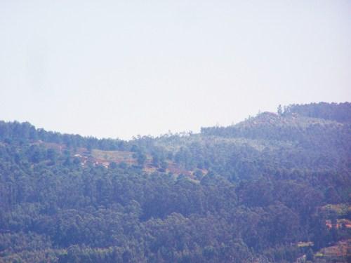 Vista do Monte Pituco dende Tambo.