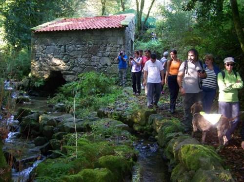 Muíños do Outeiro, en Salcedo.