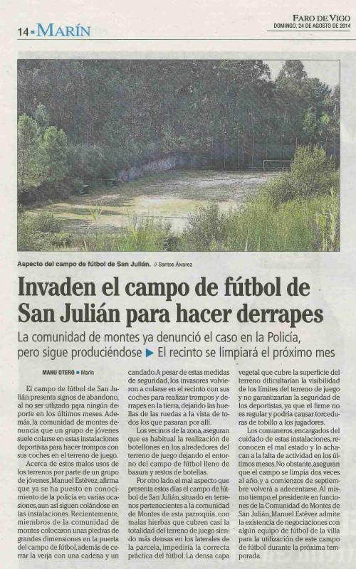 Faro, 24 de agosto 2014.