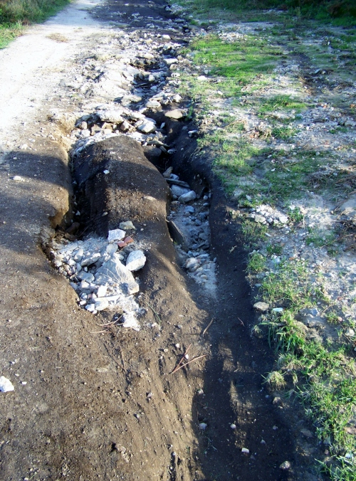 Efectos da cicloxénese Margit no Monte Pituco.