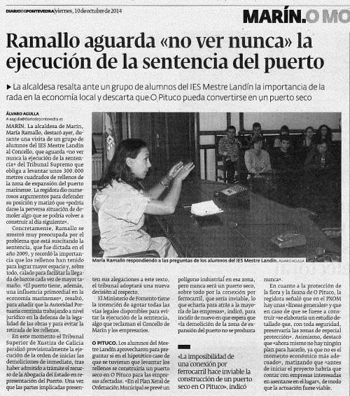 Diario, 10 de outubro de 2012.
