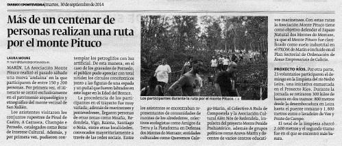 Diario de Pontevedra.