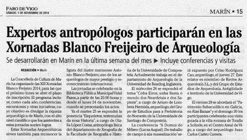 Faro, 1 de novembro de 2014.