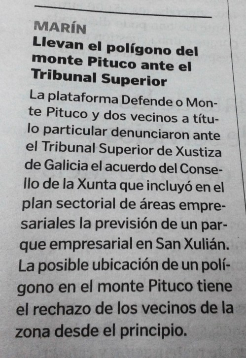 La Voz, 22 de novembro de 2014.
