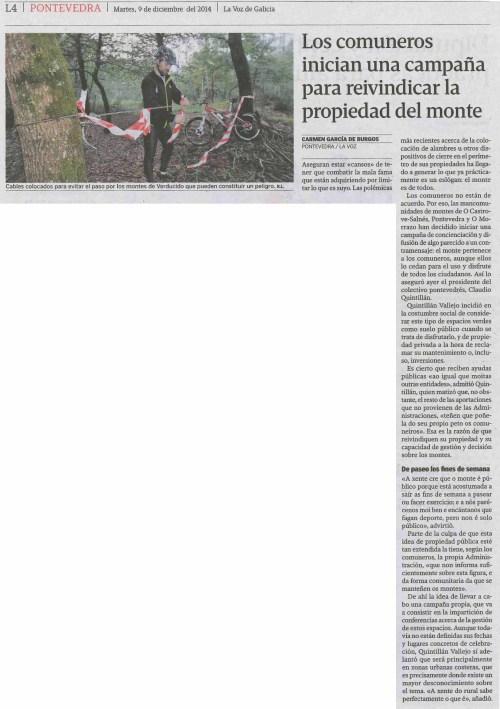 La Voz, 9 de decembro 2014