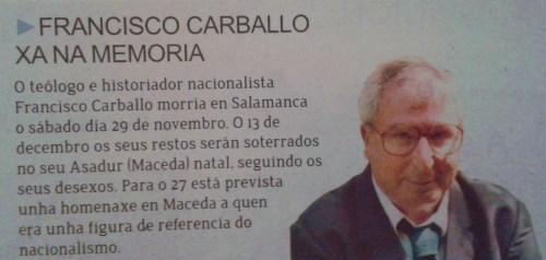 Sermos Galiza, decembro 2014.