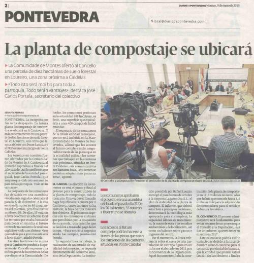 Diario, 9 xaneiro 2015