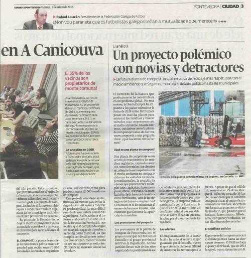 Diario, 9 de xaneiro 2015.