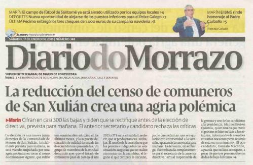 Diario, 17 de xaneiro 2015.