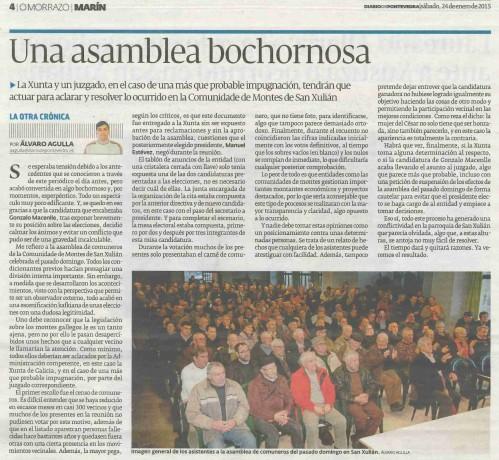 Diario, 24 xaneiro 2015